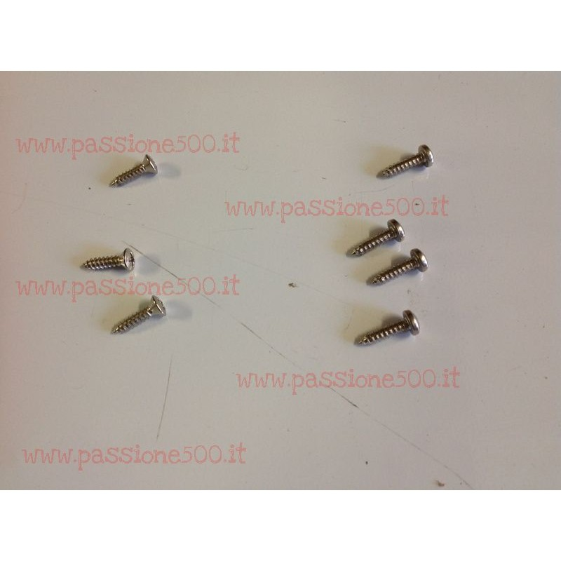 SCREW KIT FOR AERATION GRILL FIXING OVER REAR TRUNK LID FIAT 500 F L R