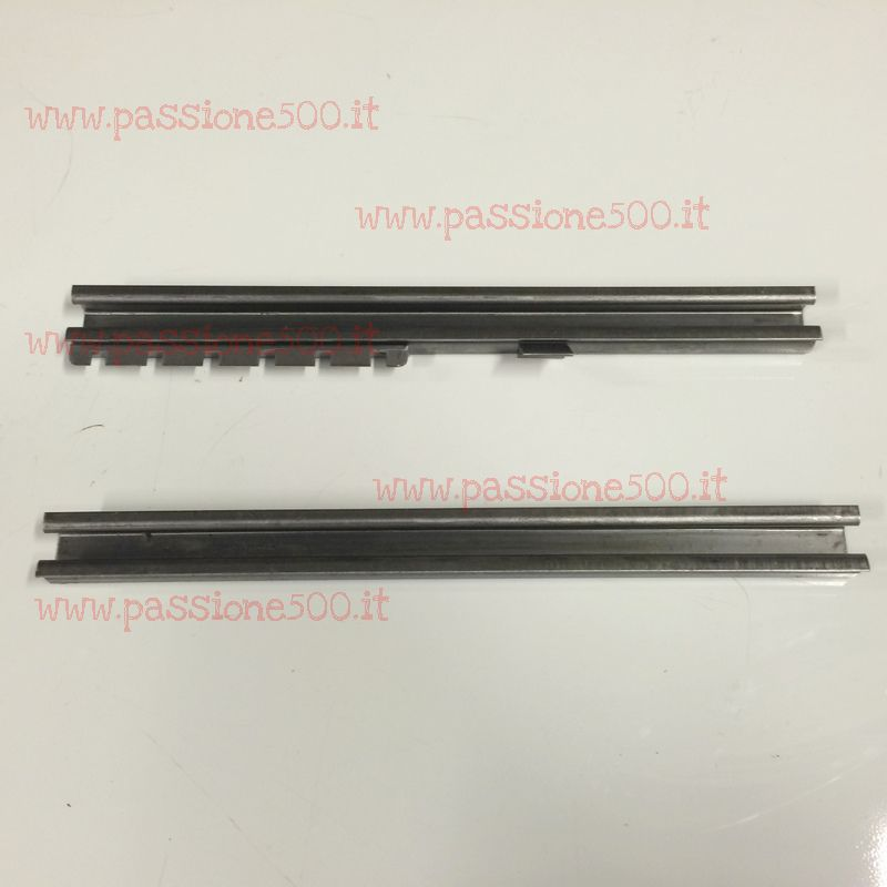 PAIR OF FLOOR PAN ROD FOR FRONT SEAT FIAT 500