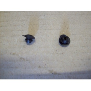 COUPLE OF RUBBER CAP FOR DOOR LOCK OILER FIAT 500 F L R