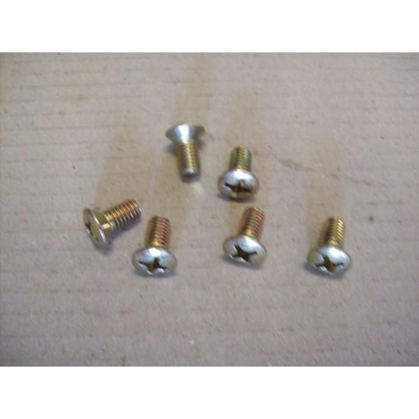 KIT 6 SCREWS FOR DOOR LOCK FIXING FIAT 500 F L R