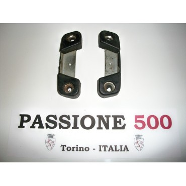 PAIR OF STRIKE PLATE FIAT 500 N D GIARDINIERA