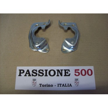 PAIR OF STRIKE PLATE FIAT 500 F L R