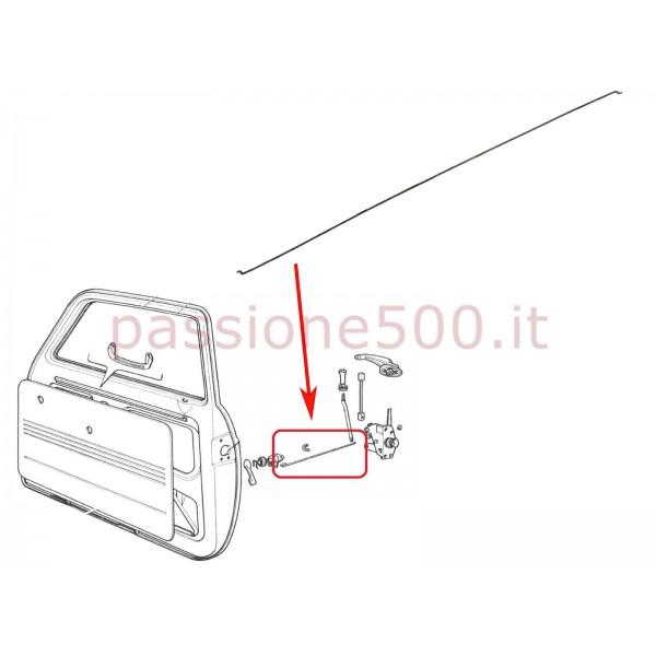 INTERNAL DOOR LOCK LONG CONNECTING ROD FIAT 500 F L R