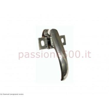 REAR TRUNK ALUMINIUM HANDLE FIAT 500 N D F1° SERIES