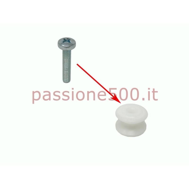 FIXING SCREW FOR ROLLER OF DOOR SPRING FIAT 500 F L R