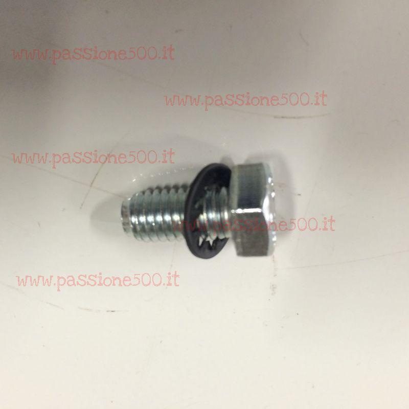 DOOR FIXING SCREWS & WASHER KIT FOR FIAT 500 F L R