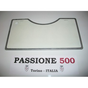 PARTITION PANEL - LIKE ORIGINAL - FOR HEAT REPAIR OF ENGINE HOOD FIAT 500 N D F L R