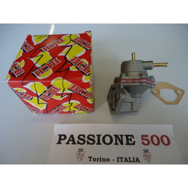 FUEL PUMP FIAT 500 F L R and 500 D (from chassis no. 746364)  - HIGH QUALITY -