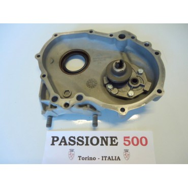 TIMING CHAIN COVER COMPLETE WITH OIL PUMP FIAT 126 - ADAPTABLE FIAT 500 F L R