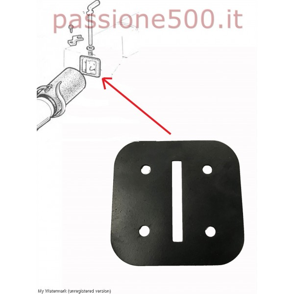 DOOR GASKET FOR CABIN HEATING AIR FIAT 500 D F L R G
