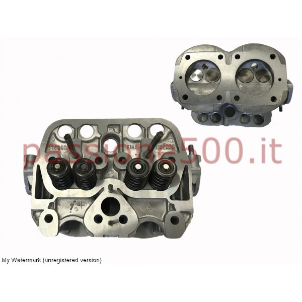COMPLETE REBUILT ENGINE HEAD FIAT 500 F L (WITH RETURN OF THE USED)