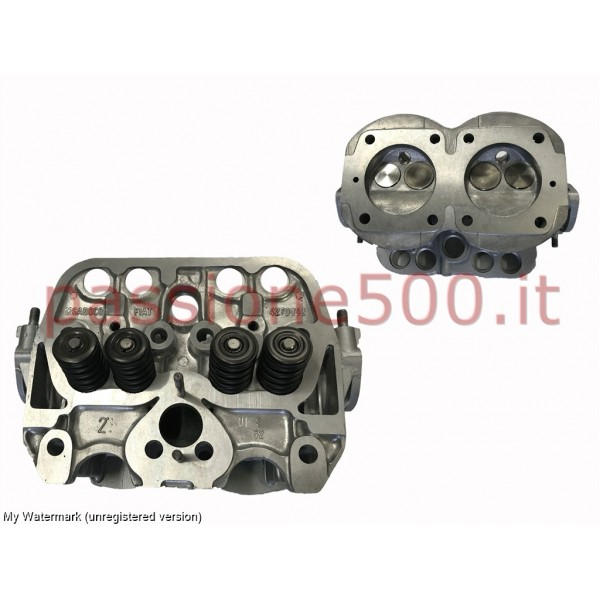 COMPLETE REBUILT ENGINE HEAD FIAT 500 R - 600 cc (WITH RETURN OF THE USED)