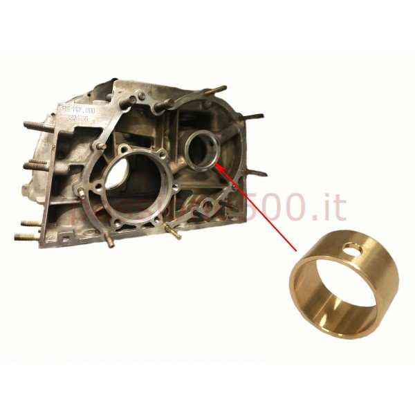 BRONZE BUSH FOR CAMSHAFT HOLE REPAIR ON MAIN CRANKCASE FIAT 500 / 126