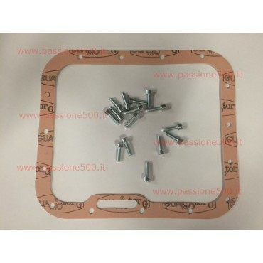 PAPER GASKET FOR ALUMINIUM OIL PAN WITH FIXING KIT FIAT 500 N D F L R