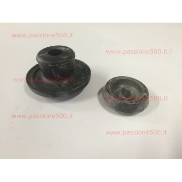 PAIR OF RUBBER PADS FOR ENGINE PLANT FIAT 500 GIARDINIERA