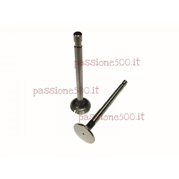 COUPLE OF EXHAUST VALVES INCREASED MEASURE FIAT 500