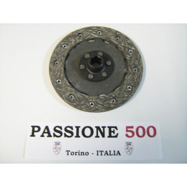 CLUTCH DISC - 6 SPLINES - FIAT 500 N D