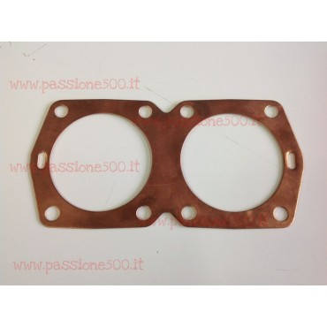 COPPER CYLINDER HEAD GASKET FIAT 500 / 126 - 650 cc 0,6 mm