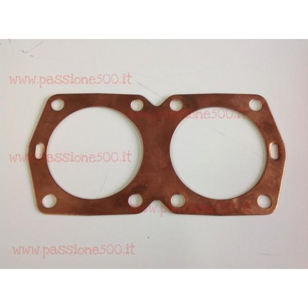 COPPER CYLINDER HEAD GASKET FIAT 500 / 126 - 650 cc 0,6 mm