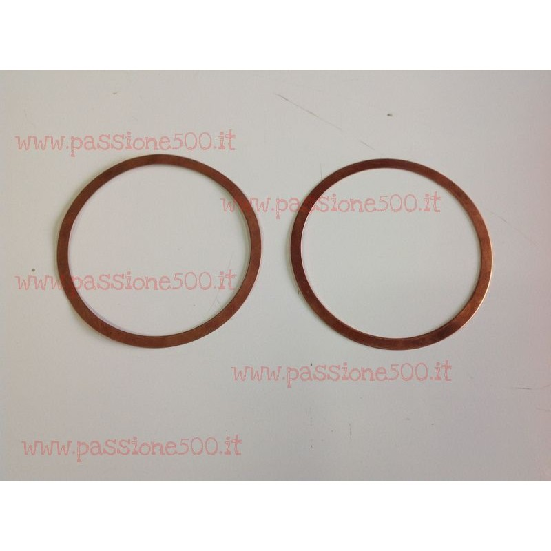 COUPLE OF CYLINDER GASKET FIAT 500 - 126 600 cc