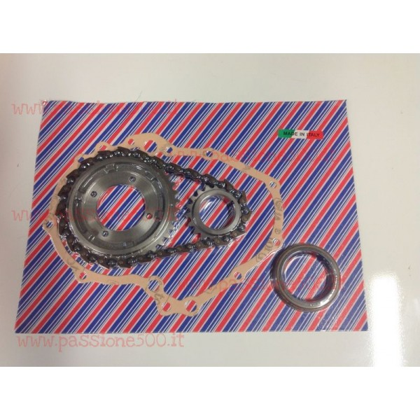 COMPLETE TIMING CHAIN KIT WITH HOOK FIAT 500 - MADE IN ITALY