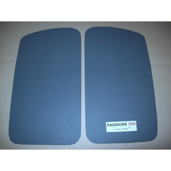 BLUE DOOR LINING PANELS FOR FIAT 500 N - HIGH QUALITY