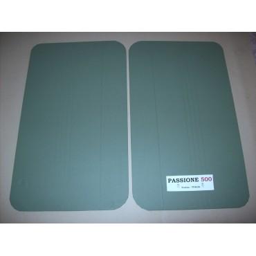 GREEN DOOR LINING PANELS FOR FIAT 500 F