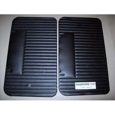 BLACK DOOR LINING PANELS FOR FIAT 500 L