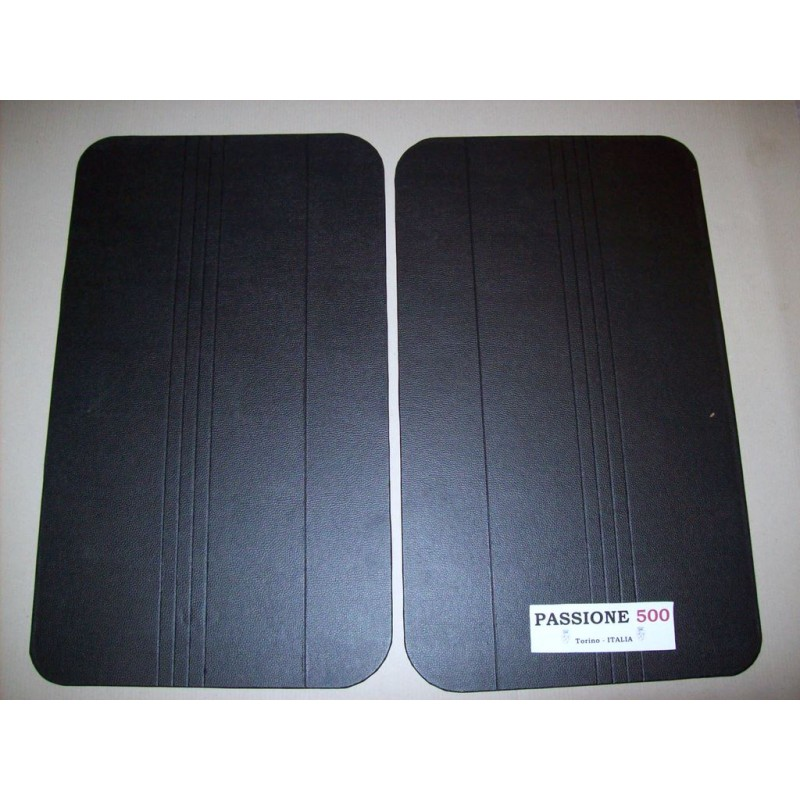 BLACK DOOR LINING PANELS FOR FIAT 500 R