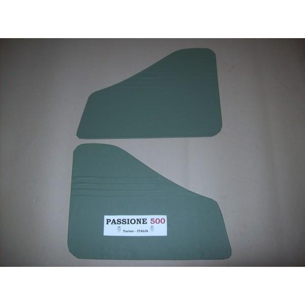 GREEN REAR QUARTER PANELS FOR FIAT 500 N