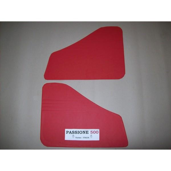 RED REAR QUARTER PANELS FOR FIAT 500 N
