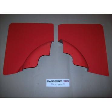 RED REAR QUARTER PANELS FOR FIAT 500 F