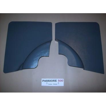 BLUE REAR QUARTER PANELS FOR FIAT 500 F