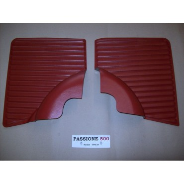 DARK RED REAR QUARTER PANELS FOR FIAT 500 L