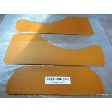 KIT OF BROWN REAR LINING PANELS FOR FIAT 500 GIARDINIERA