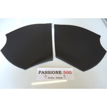 BLACK REAR QUARTER PANELS OF WHEEL HOUSING FIAT 500 N D