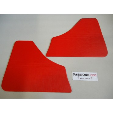 RED REAR QUARTER PANELS FOR FIAT 500 F 1°series