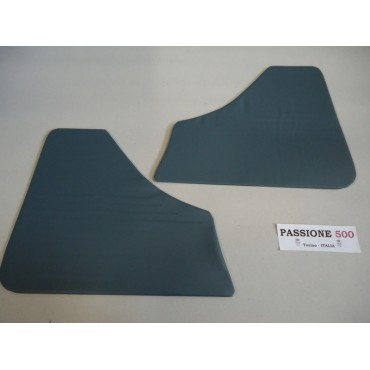 BLUE REAR QUARTER PANELS FOR FIAT 500 F 1°series