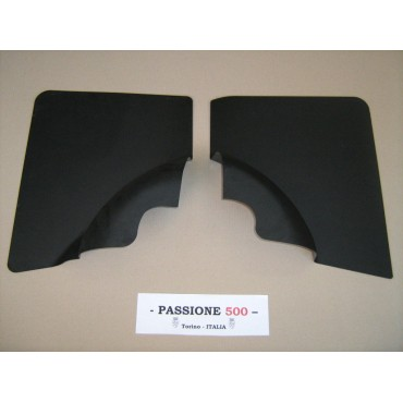 NR.2 BLACK REAR SIDE PANELS FOR FIAT 500 F AND 500 R