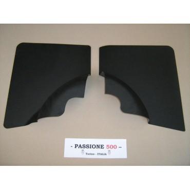 BLACK REAR QUARTER PANELS FOR FIAT 500 F R