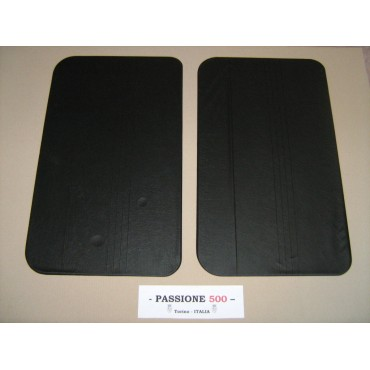 NR.2 BLACK DOOR LINING PANELS FOR FIAT 500 R