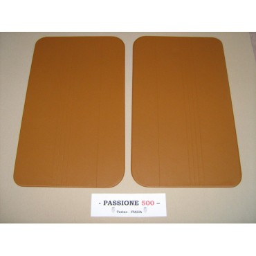 NR.2 BEIGE DOOR LINING PANELS FOR FIAT 500 F