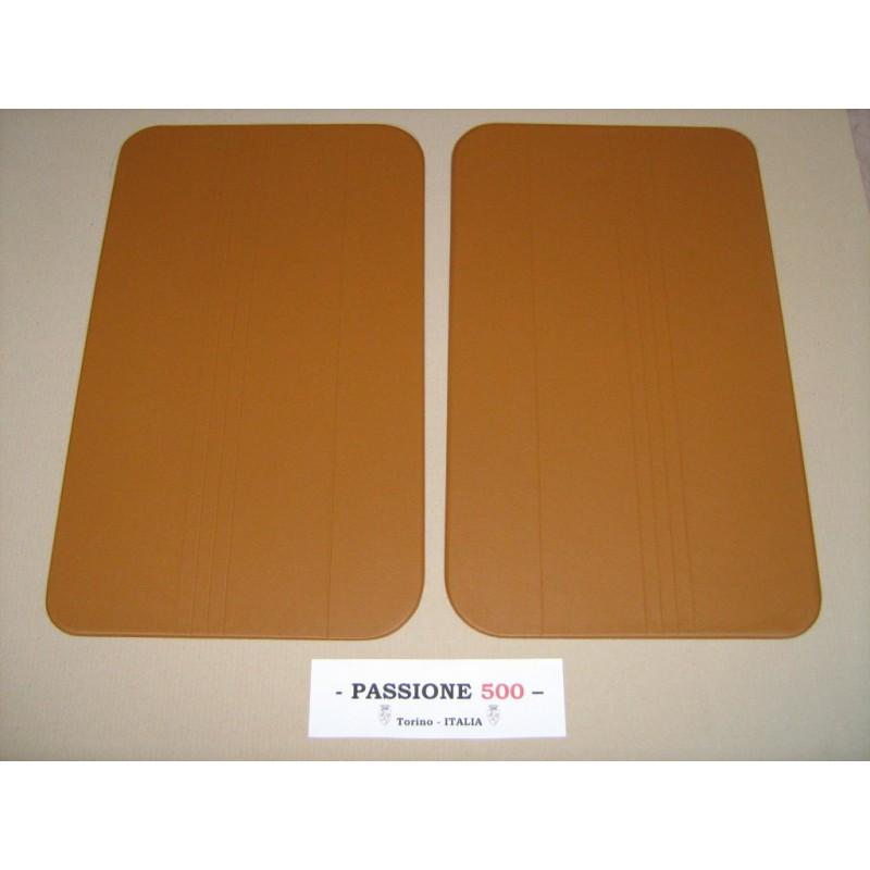 NR.2 BEIGE DOOR LINING PANELS FOR FIAT 500 R