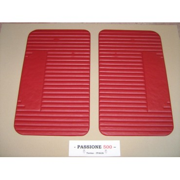 NR.2 RED DOOR LINING PANELS FOR FIAT 500 L