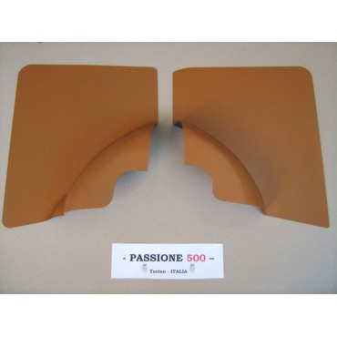 NR.2 BEIGE REAR SIDE PANELS FOR FIAT 500 F AND 500 R