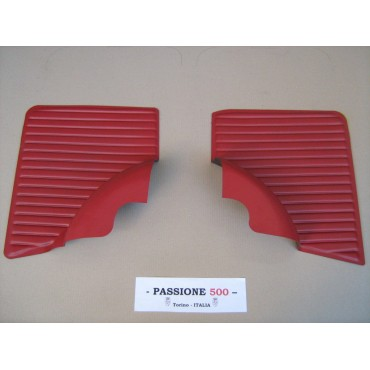 NR.2 RED REAR SIDE PANELS FOR FIAT 500 L