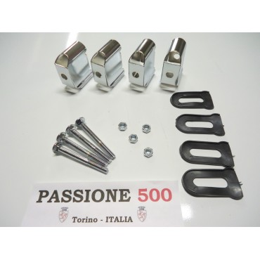 COMPLETE FIXING KIT FOR BUMPER FIAT 500 N D F R