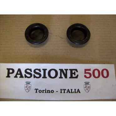 COUPLE OF RUBBER PLUG FOR REAR SEAT FIAT 500