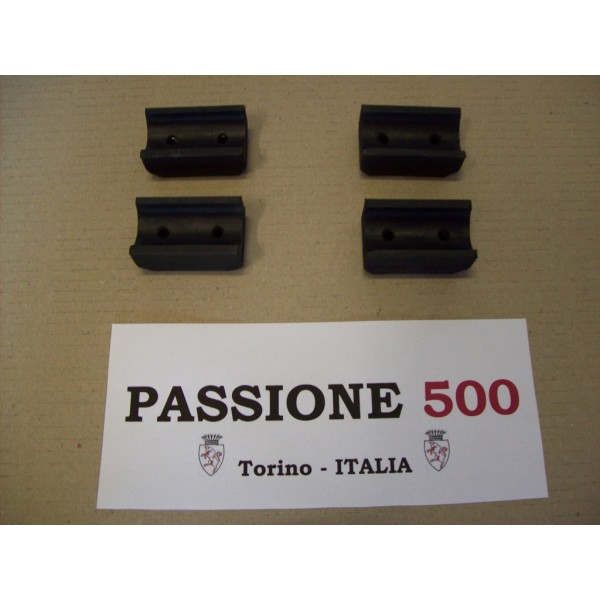 KIT OF 4 BUMPER FOR FRONT SEAT FIAT 500 N