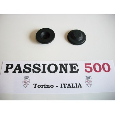 COUPLE OF RUBBER PLUG FOR BATTERY BOX FIAT 500